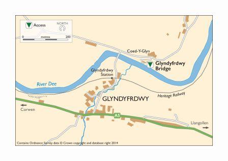 Map_Glyndyfrdwy