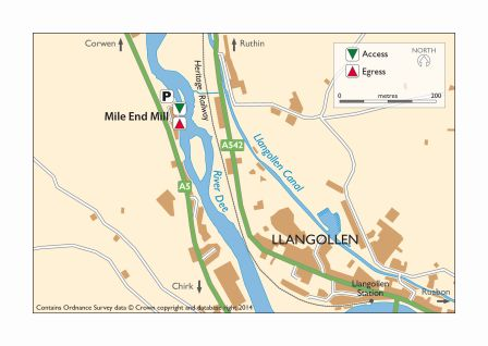 Map Mile End Mill